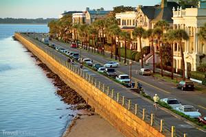pobřeží Charlestonu Jižní Karolína