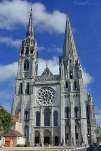 katedrála Chartres Francie