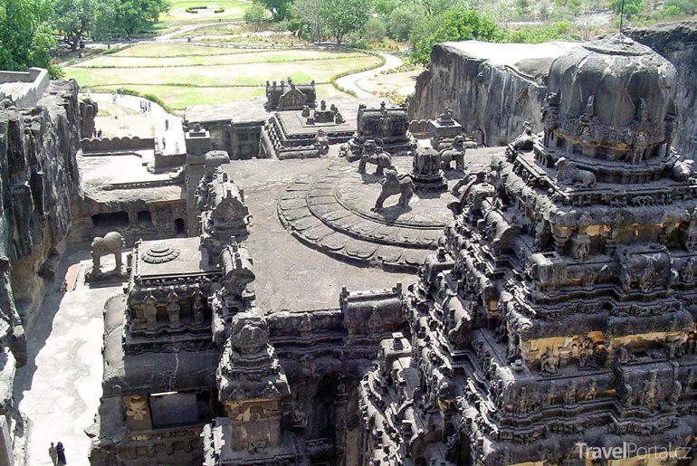 chrám Kailáš