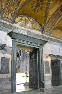Císařská brána Hagia Sofia