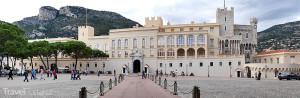 knížecí palác Monako