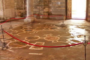 chrám Boží Moudrosti podlaha