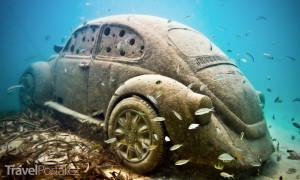 Underwater Museum Cancún Mexiko