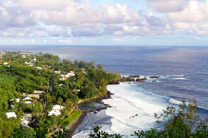 pohled na Réunion