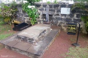 hrob piráta Oliviera Levasseura alias La Buse