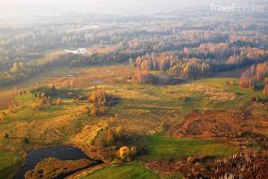 podzim Litva