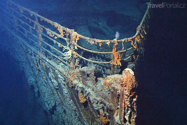 vrak Titanic