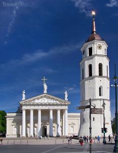 katedrála Vilnius