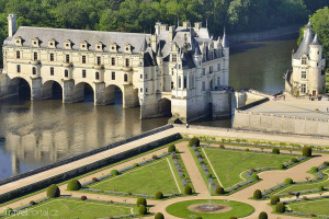 údolí řeky Loiry Chateau de Chenonceau
