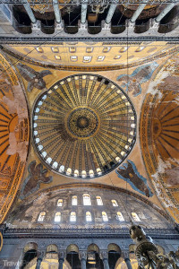 detail kupole Hagia Sofia