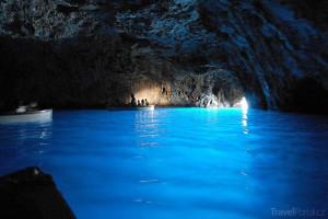 Grotta Azzurra alias Modrá jeskyně
