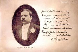šéfkuchař Pierre Rousseau