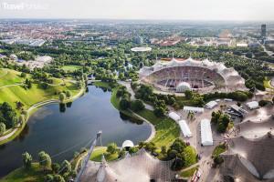 olympijský areál Mnichov