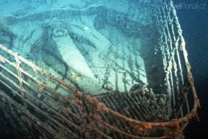 vrak parníku Titanic