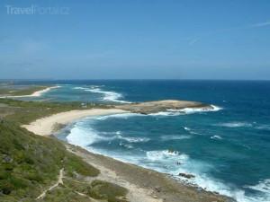 pobřeží Guadeloupe