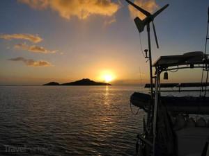 moře u Guadeloupe