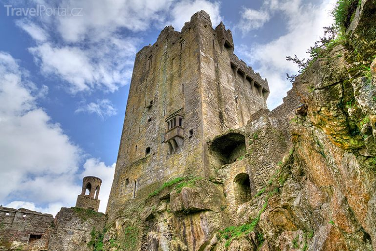 Blarney Castle v Irsku
