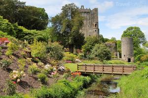 hrad Blarney Castle v Irsku