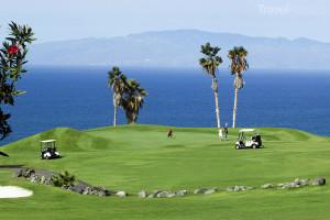 golfové hřiště Costa Adeje