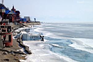 doba tání na Bajkalu