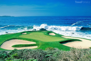 golf u moře