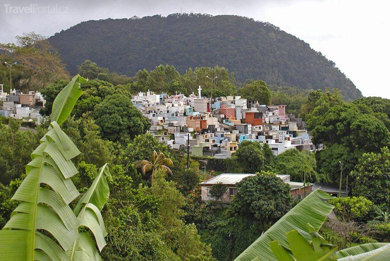 hřbitov na Guadeloupe