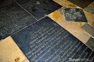 hrob Jane Austen