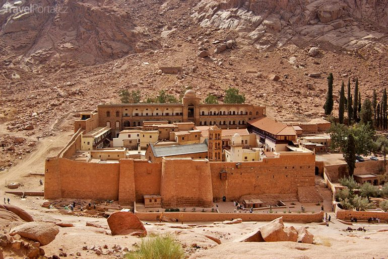 klášter Hora svaté Kateřiny