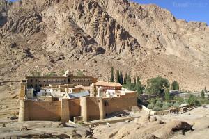 klášter Hora svaté Kateřiny Sinajský poloostrov