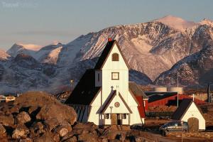 kostel v Grónsku