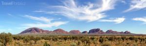 Kata Tjuta v Austrálii