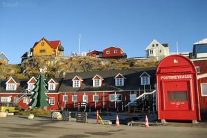 největší poštovní schránka na světě Grónsko