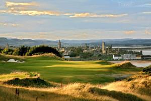 golfové hřiště St Andrews Skotsko