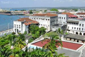 Sultánův palác Zanzibar