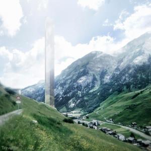 vizualizace hotelu - Vals Švýcarsko