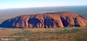 australský monolit Uluru