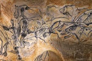 malby v jeskyni Pont d'Arc