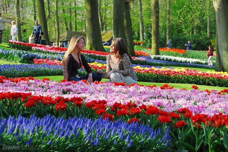 Zahrady Evropy Keukenhof
