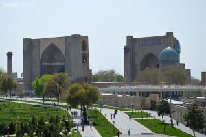 náměstí Registán