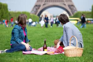 piknik v Paříži