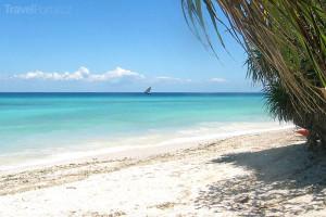 pláž v Zanzibaru