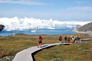 údolí Sermemmiut Grónsko