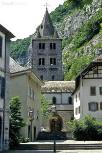opatství Saint Maurice d'Agaune