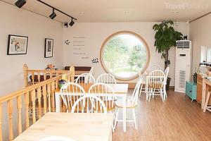 Kavárna snění Jižní Korea interiér