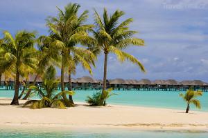 bungalovy na Bora Bora
