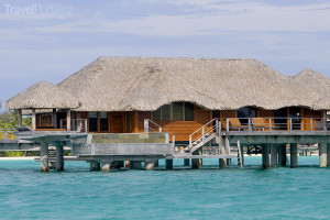 bungalov na Bora Bora