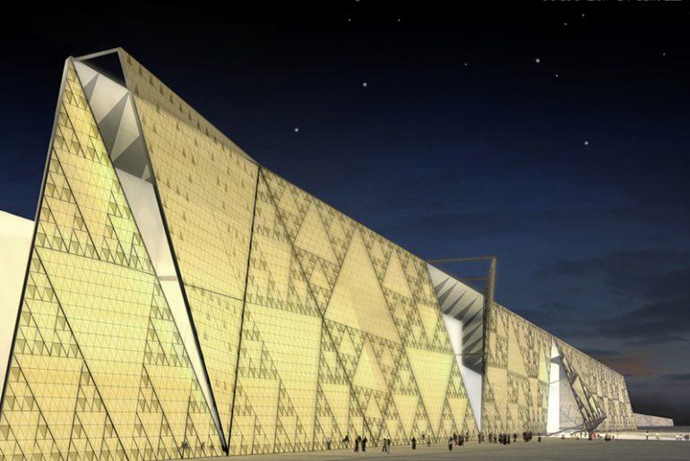 muzeum v Egyptě