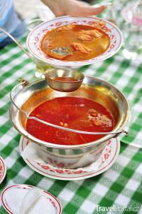 maďarská rybí polévka halászlé