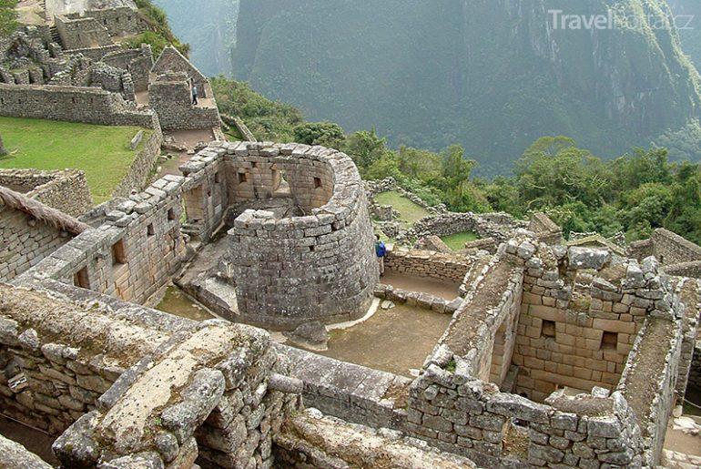 město v oblacích Machu Picchu