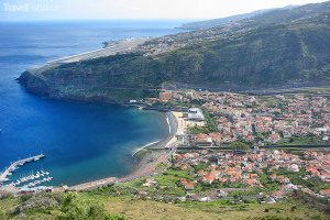 Madeira z letadla